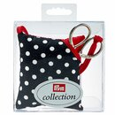 Prym Pin cushion and scissors Polka Dots black/white (1 pc)
