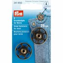 Prym Sew-On Snap Fasteners for wool 25 mm antique brass...