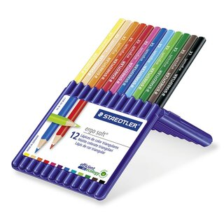 Staedtler ergosoft® 157 (Box with 12 sortierten colors)