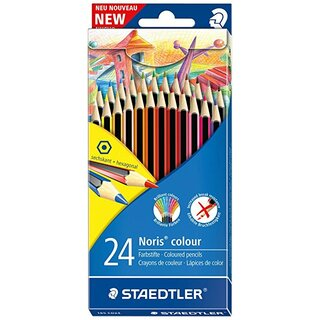 Staedtler Noris® colour 185 (Doppeldecker-Kartonetui with 24 sortierten colors)