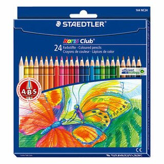 Staedtler Noris Club® 144 (Kartonetui with 24 sortierten colors)