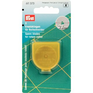 Prym Spare Blades for Rotary Cutter Mini 28 mm (2 pcs)