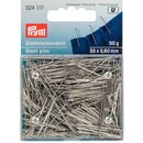 Prym Straight Pins 6 EF 0.60 x 30 mm silver col (50 g)