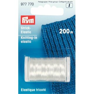 Prym Strick-Elastic transparent 2 m