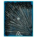 Prym Glass-headed Pins No. 2/0 black 0.80 x 48 mm (30 g)