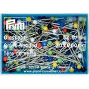 Prym Glass-headed Pins No. 9 assorted col 0.60 x 30 mm...