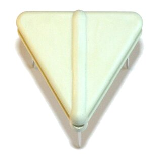 Triangle Needle Bar 40 mm white